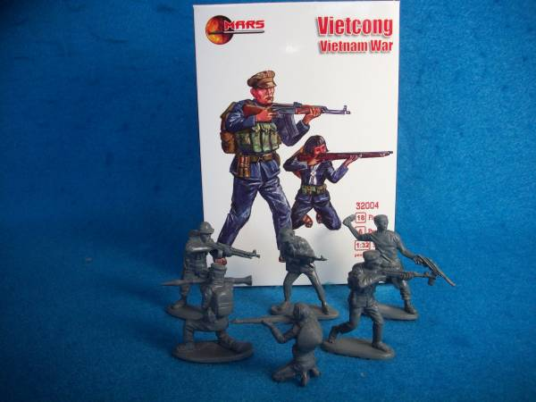 Mars Vietcong - Vietnam War (54mm) 18 in 6 poses