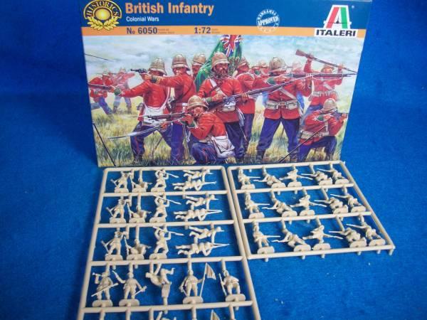 British Infantry Zulu Wars -- 40 pieces (6050)  <font color=#CC0000>(25mm) </FONT>