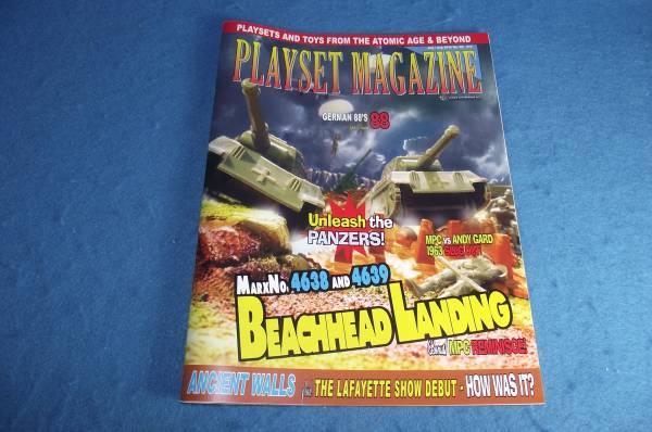 Playset Magazine #88 Marx Beachhead Landing playsets
