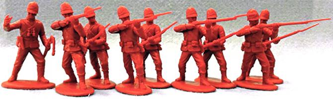 Expeditionary Force: British Infantry 1879 Badged Sun Helmet- Zulu Wars (movie version from Zulu) 54mm