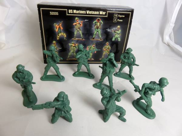 Vietnam War U.S. Marines 54mm (MAF32005)
