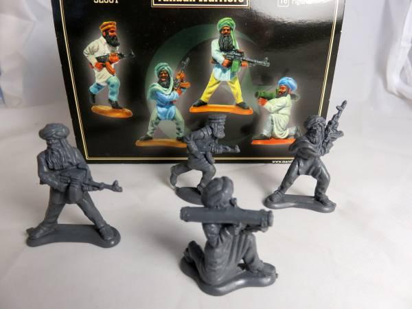 Mars Taliban warriors, 16 figures, (small 1/32) (32001