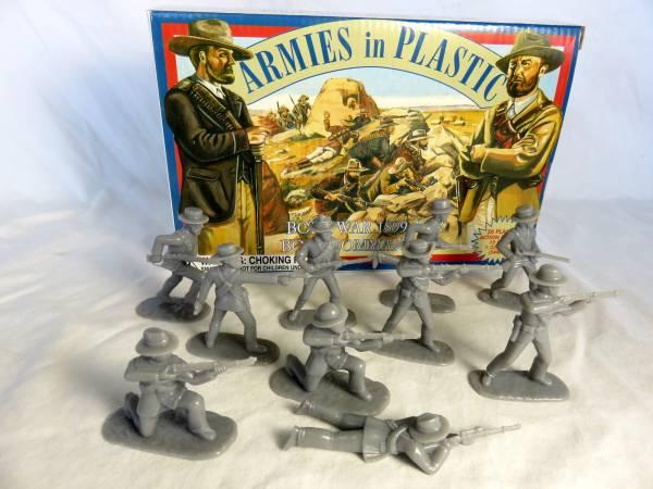 Armies in Plastic Bore War 1899-1902 Boer Commando's (5424)