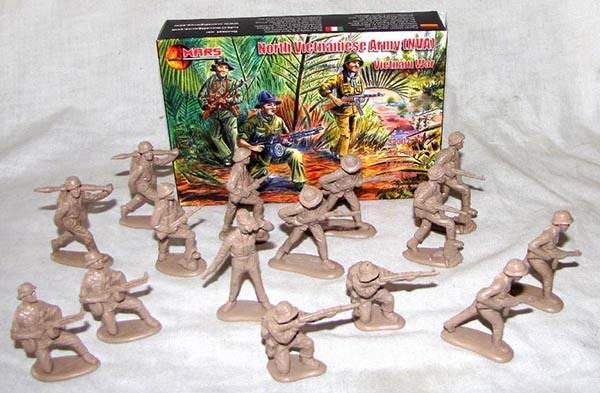MAR108A Vietnam War - North Vietnamese  Army - NVA (54MM) 15 in 8 poses #32007