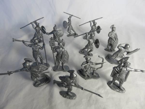 REM101A Reamsa Romans (silver) 13 in 10 poses (60MM)