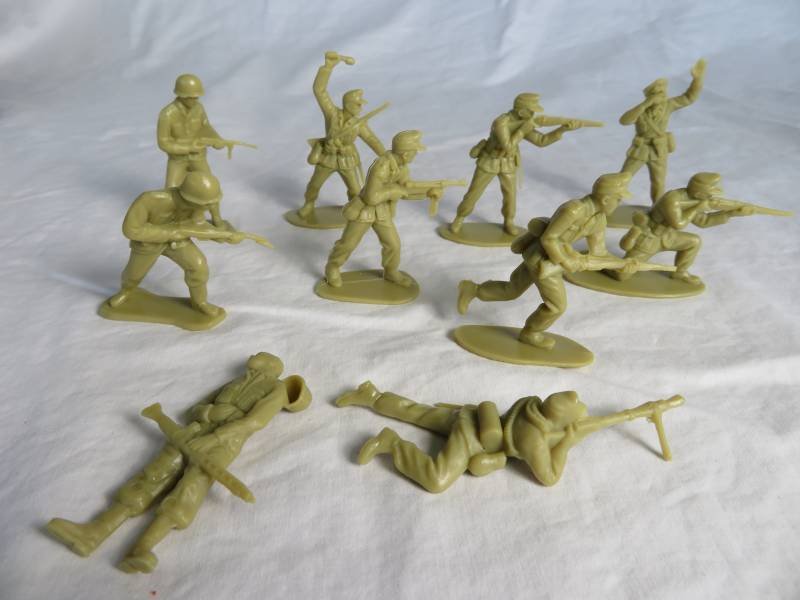 Airfix WWII German Africa Korps,Tan, 54mm