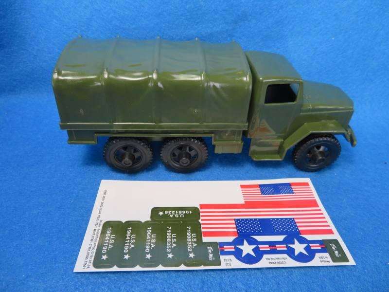 Tim Mee 2 1/2 ton U.S. cargo truck, plastic 8