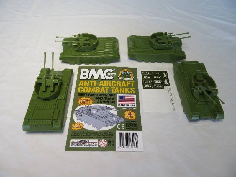 BMC/Payton Anti-Aircraft Combat Tanks, 1/48th scale plastic X4