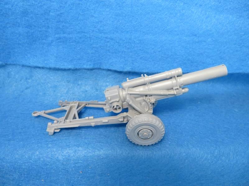 BMC/MARX WWII U.S howitzer, gray, 1/40 plastic