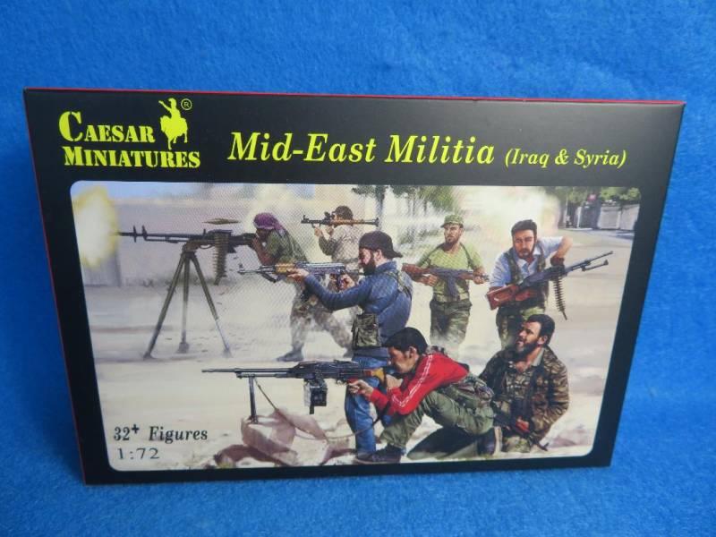 Caesar Miniatures, Mid-East Militia Iraq and Syria, 1/72 scale (101)