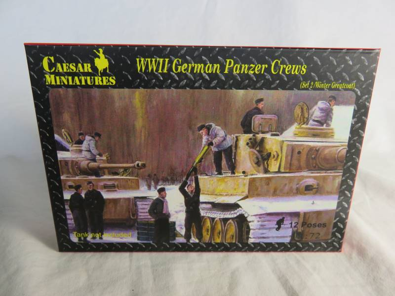CMF0105A WWII German Panzer Crews Set #2 (25MM)