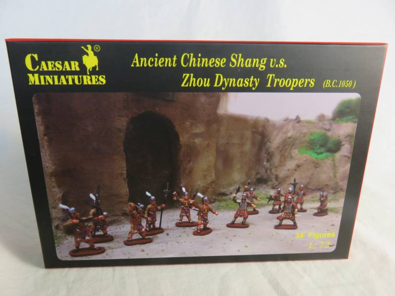 CMF029A Ancient Chinese Shang Vs. Zhou Dynasty Troopers (25MM) 34 figures