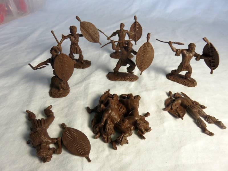 CNT128A Zulu Warriors #3 (54MM) 8 in 8 poses