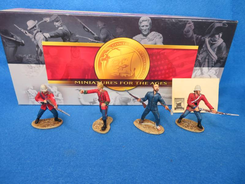Conte Zulu Heroes of the Drift boxed set, 1/32, metal