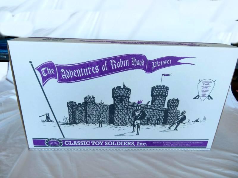 CTS Litho Printed Castle Box (empty Box)