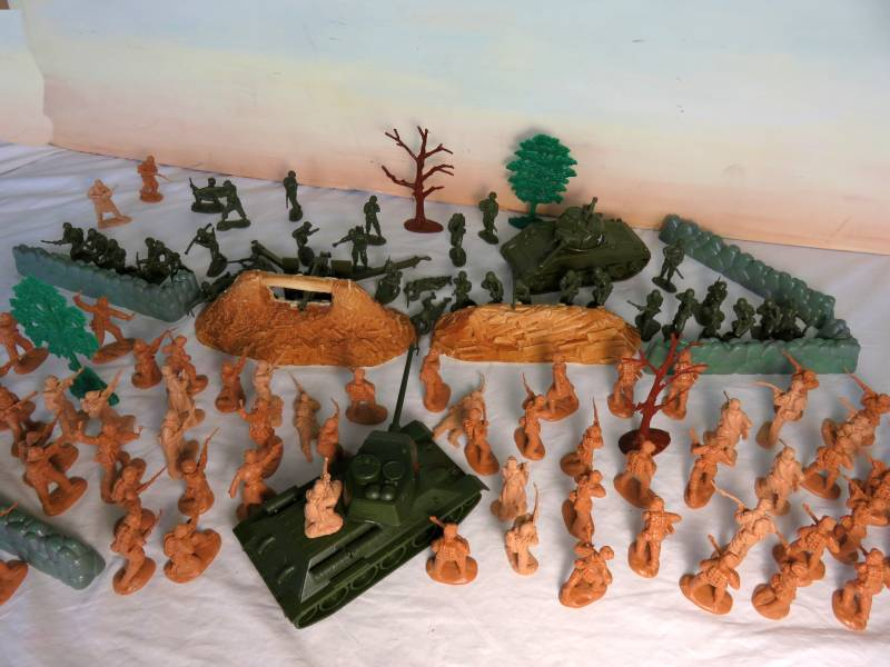 CTS986A Korean War Playset (54MM)