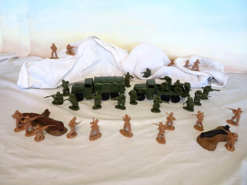 Koren War Retreat From Chosen Reservoir Play set