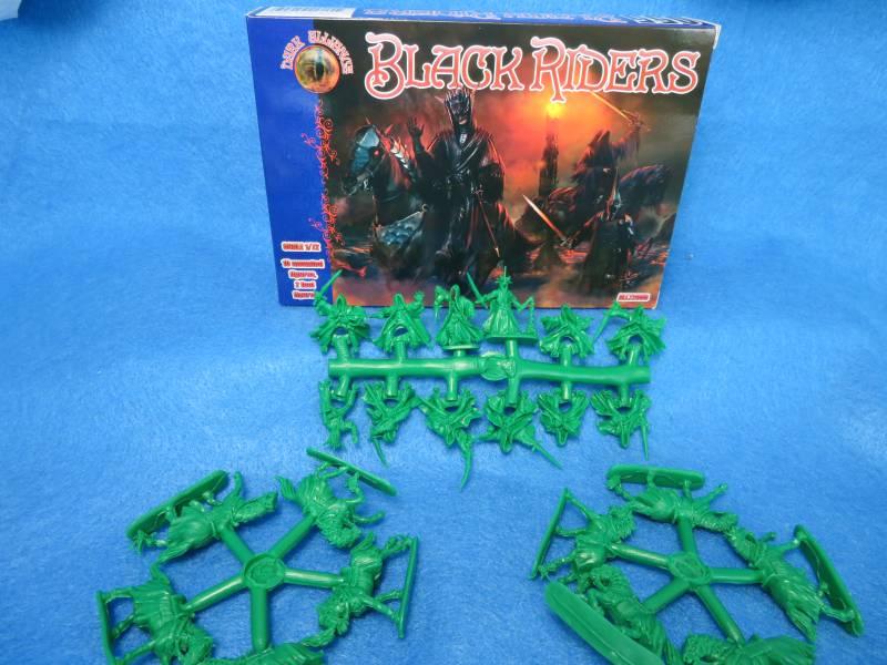 Dark Alliance Black Riders,12 figs, 10 horses,1/72, (72055)                              , 1/72- 2