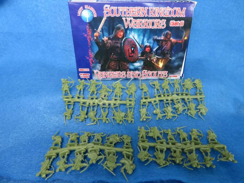 Dark Alliance Southern Kingdom Warriors,48  in 12 poses, 1/72- (72060)