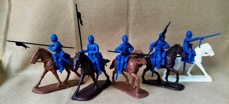 EPF155A Expeditionary Force Zulu War, British Lancers (54MM)