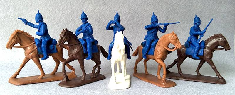 EPF156A Expeditionary Force Zulu Wars, Mounted Carbineers (54MM)