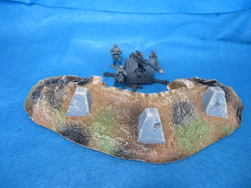 Artillery Redoubt without Battle Damage Painted 54mm