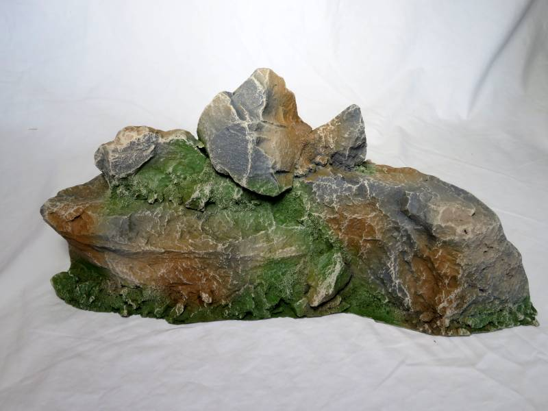 Hard Foam Large Rock Formation, painted, multi scales