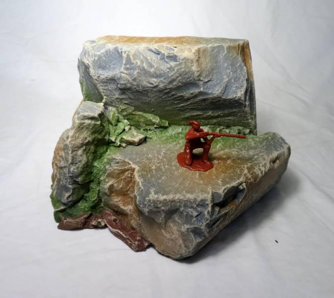 Hard Foam double Plateau rock formation, all scales