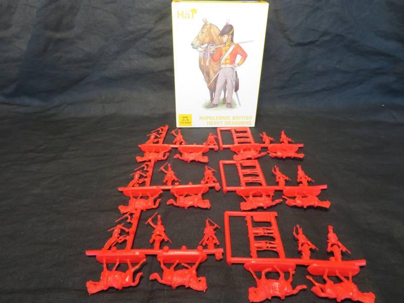 HAT8308 Napoleonic British Heavy Dragoons (25MM) 24 Pieces