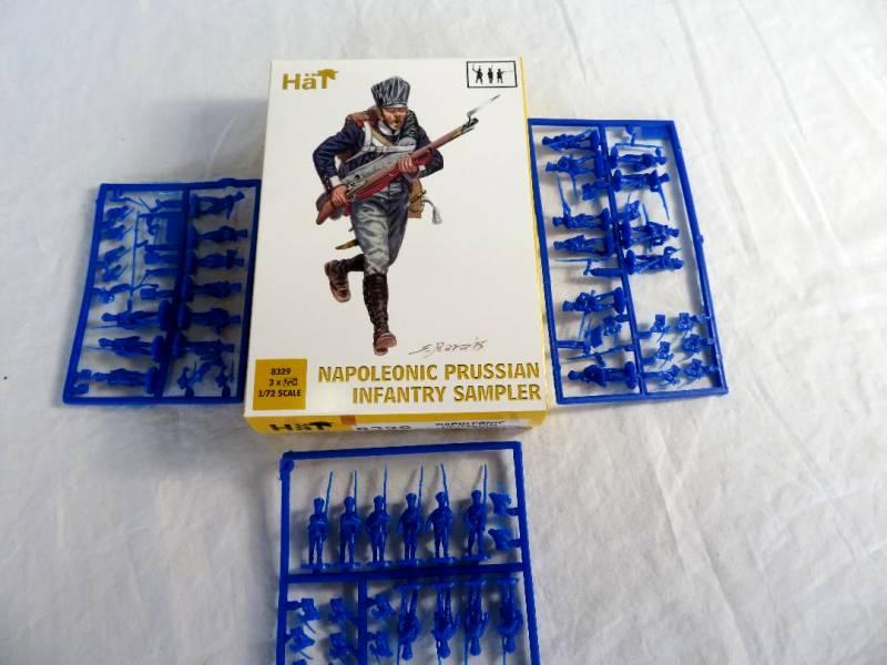 HAT8329 Napoleonic Prussian Infantry Sampler (25MM)
