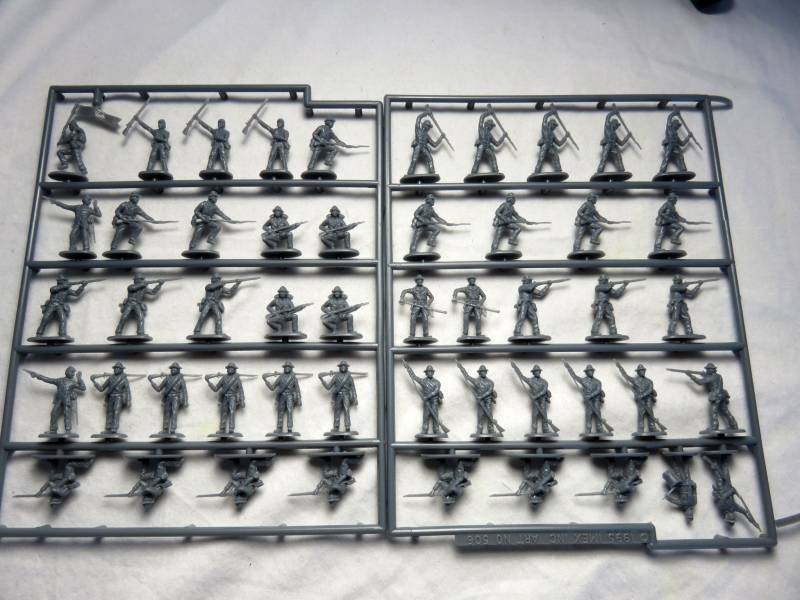Confederate Infantry----50 pieces (506)
