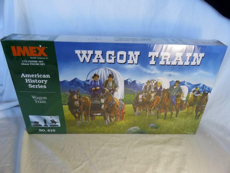 IMX097A Wagon Train Playset (25MM)