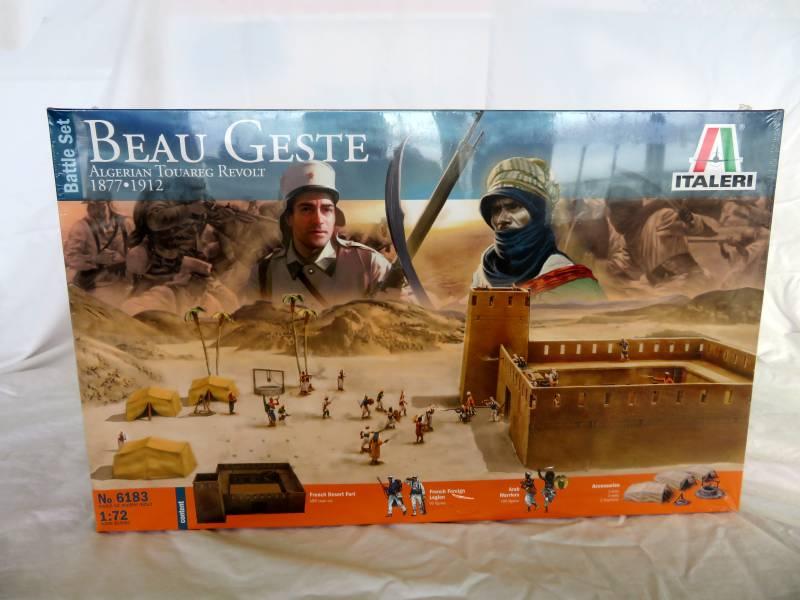 Italeri Beau Geste fort + figures, 1/72
