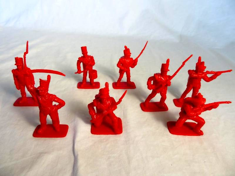 Chinese RE-Made Italeri Napoleonic British Light Infantry