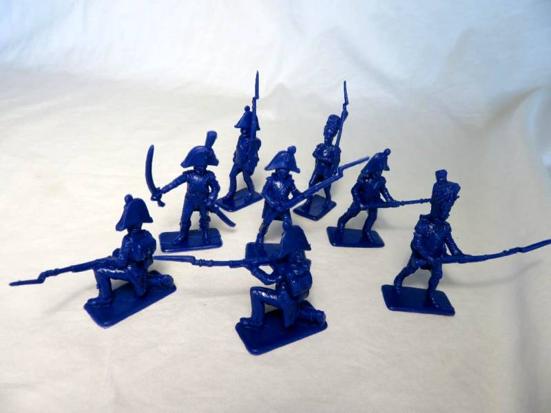 Chinese Re-Made Italeri Napoleonic French Infantry