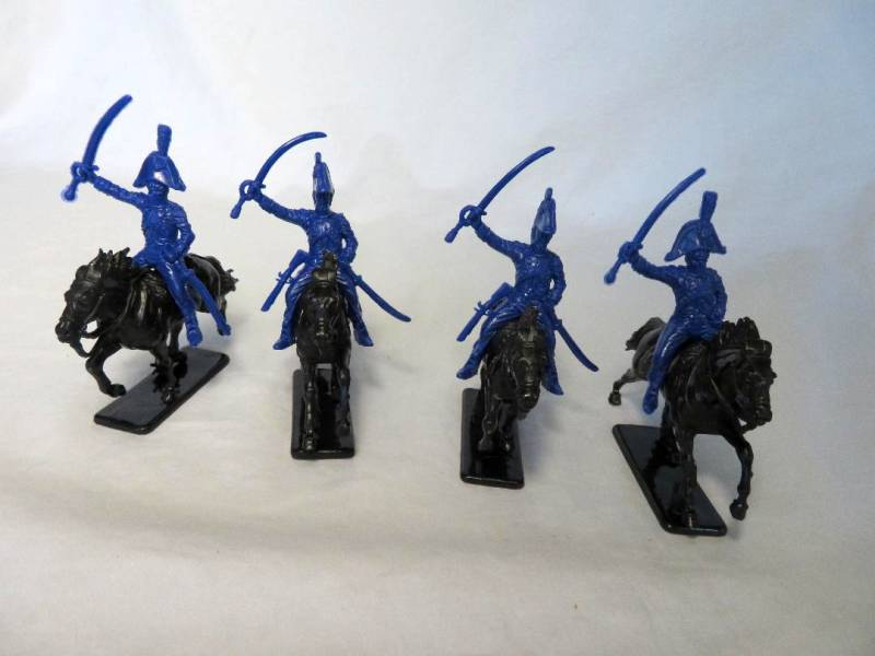 Chinese Re-made Italeri Napoleonic French Cavalry