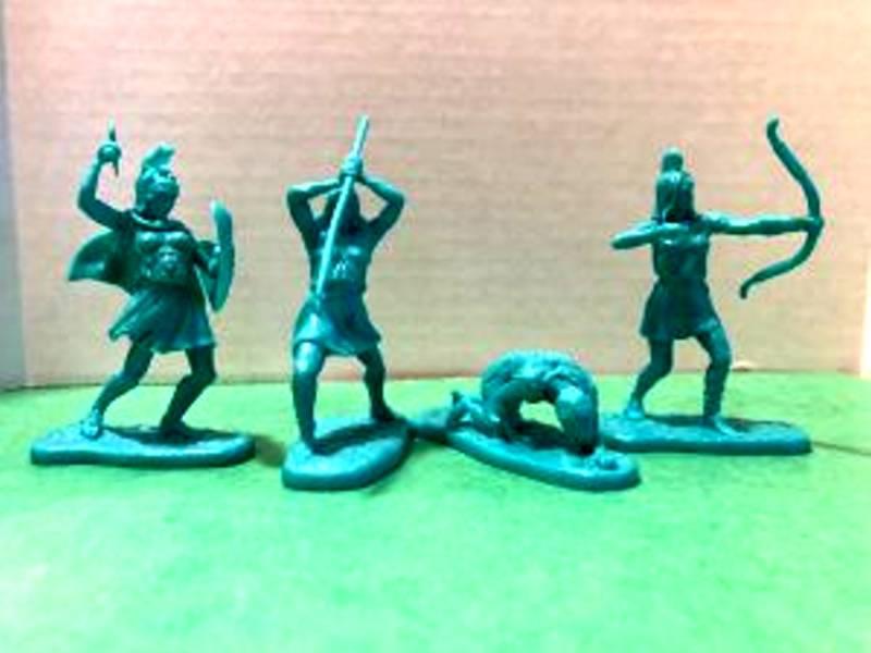 LOD Enterprises Ancient Amazons 10 figures plus 2  horses