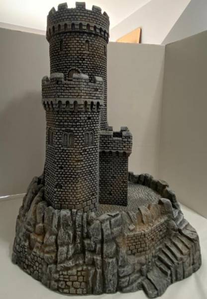 LOD/Barzso: Duke's Stronghold From the Barzso Foam Medieval Collection