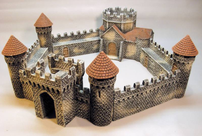 LOD Enterprises: Fortified Abbey Medieval Collection Hard Foam