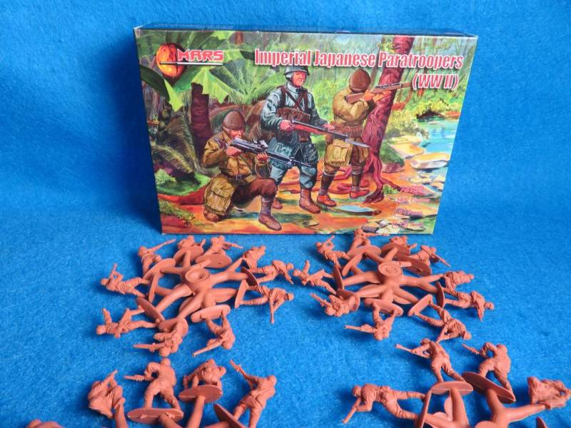 MAR086A Mars WWII Imperial Japanese Paratroopers, 1/72, #72109