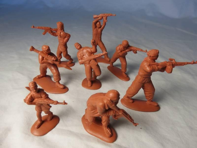 MARS, Somalian Insurgents, 54MM  #32012