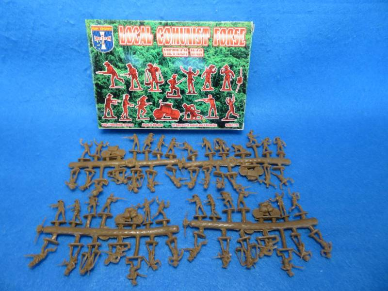ORF056 Vietnam War Local Communist Force (25MM) 52 figures