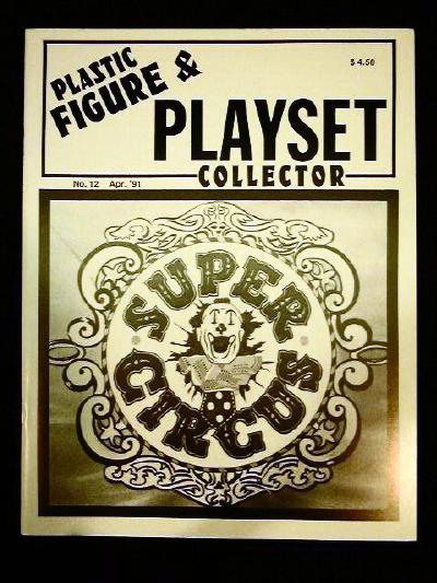 issue #12 ''MARX Super Circus & Big Top playsets''