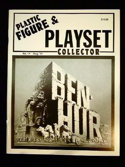 issue #14 ''MARX Ben Hur & Custer's Last Stand (II) playsets''