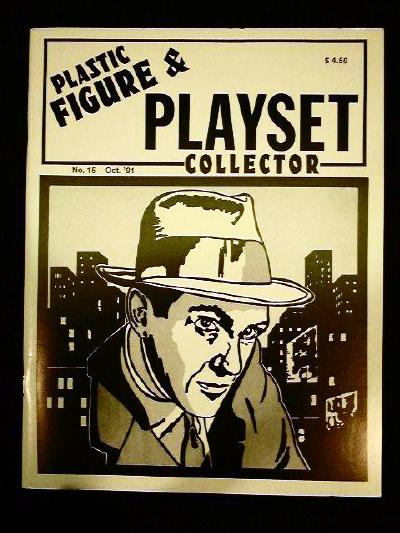 issue #15 ''MARX Untouchables & MPC Fireball XL5 playsets''