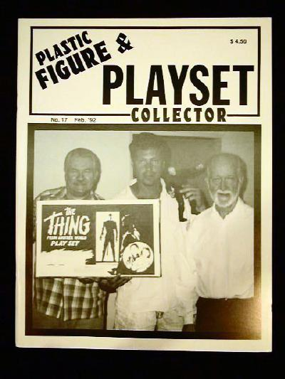 issue #17 ''MARX Daniel Boone and Dream/Wish playsets''