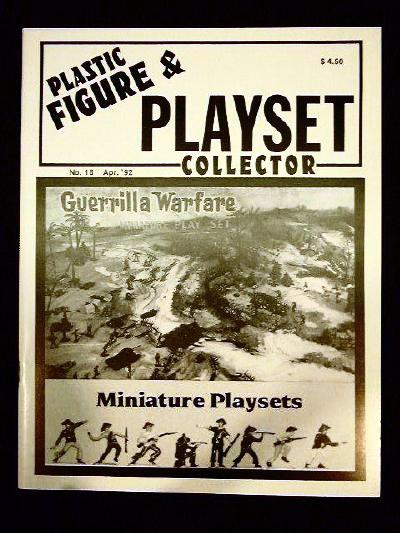 issue #18 ''MARX Miniture playsets & AUBURN Western playsets''