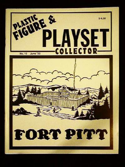issue #19  ''MARX Construction playsets (I), Ft. Pitt & T. COHN Naval Base''