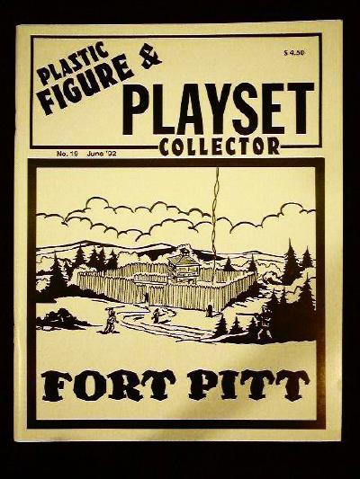 issue #19  ''MARX Construction playsets (I), Ft. Pitt & T. COHN Naval Base''