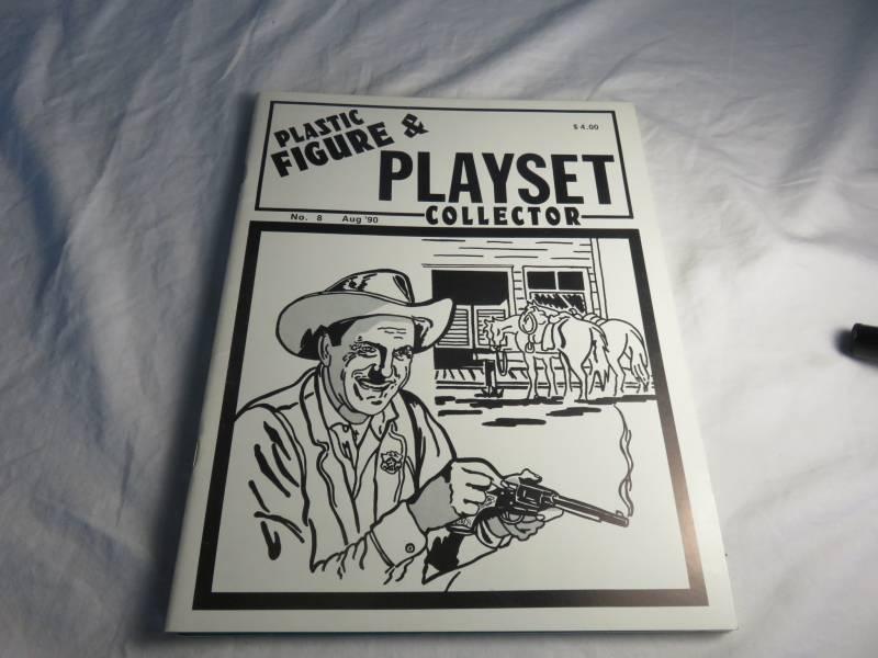 PFPC magazine #8 Marx Gunsmoke + Johnny Ringo playsets